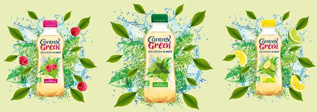 testez gratuitement les bouteilles Green Infusion de Maté Contrex