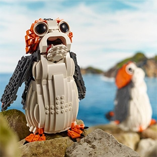 Jeu Picwic ;: Lego Porg à gagner