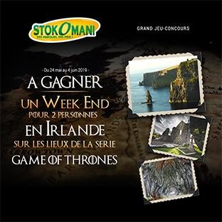 Jeu Stokomani : voyage Game Of Thrones à gagner