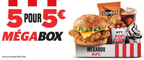 Méga Box KFC édition limitée