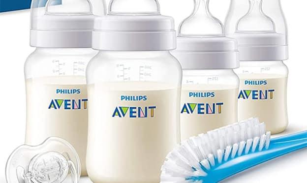 Bon plan promo Kit Philips Avent : 4 biberons + 1 tétine à 16.49€