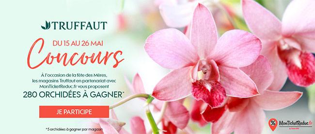 Tentez de remporter une orchidée offerte