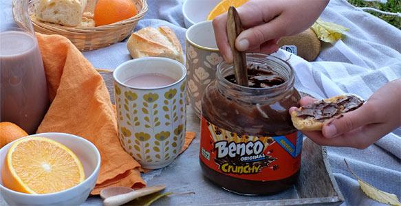 tester gratuitement la pâtes à tartiner Benco Crunchy avec Sampleo