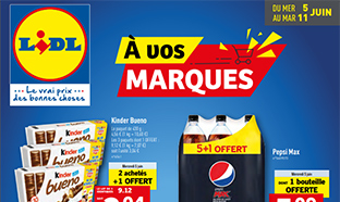 "Catalogue Lidl ""A vos marques"""