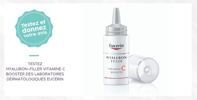 Testez gratuitement le sérum Booster d'Eucerin à la vitamine C