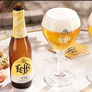 Test de la bière Leffe d'été avec Sampleo