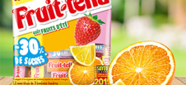Test gratuit des bonbons Fruittella avec Sampleo