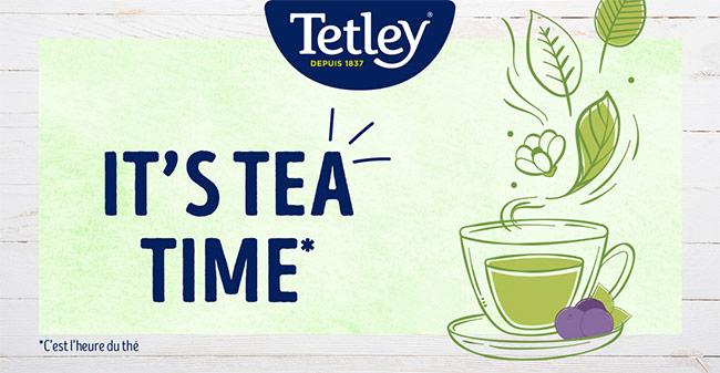 Testez gratuitement les thés au Matcha de Tetley