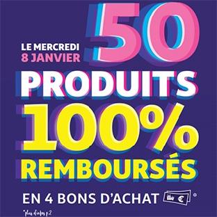 Produits 100% remboursés pendant les soldes Auchan 2020