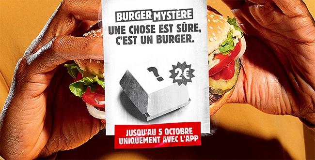 Mystère Burger King 2020