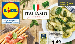 Catalogue Lidl Italiamo