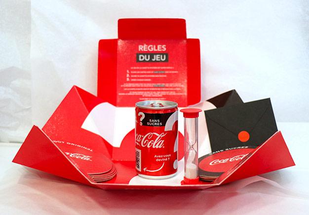 Testez gratuitement les sodas Coca-Cola avec et sans sucres