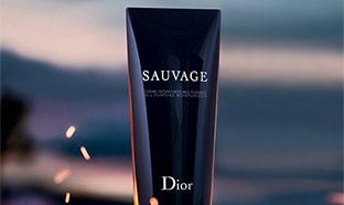 Échantillons gratuits de la crème hydratante Dior Sauvage