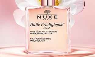 Échantillons gratuits de l'Huile Prodigieuse Florale de Nuxe