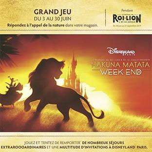 Jeu Roi Lion Super Géant Casino Séjours Disneyland à Gagner
