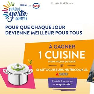 Jeu Croquons La Vie : Nestlé & Cora