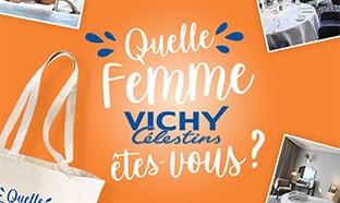 Jeu Vichy Célestins : séjours et sacs à gagner