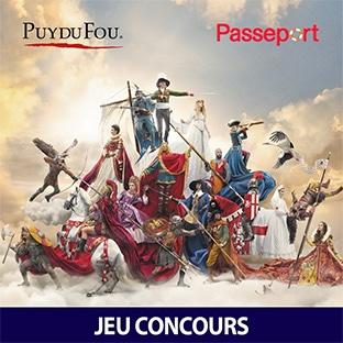 Jeu Hachette : 3 séjours et 200 entrées Puy du Fou à gagner