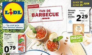 Catalogue Lidl Fan de barbecue