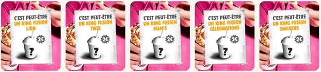 glace mystère Burger King