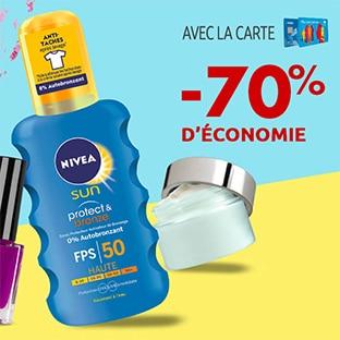 Promo Carrefour : Spray solaire Nivea pas cher