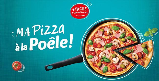 Testez gratuitement la nouvelle pâte à pizza à la poêle Herta