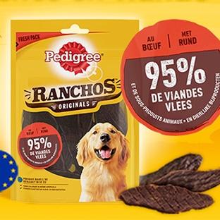 Jeu Pedigree Ranchos : 10 lots de produits et 200 échantillons