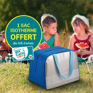 Super U / Hyper U : Sac isotherme offert dès 50€ d'achats