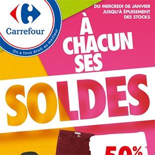 Magasins Carrefour : Catalogue Soldes d'hiver 2020