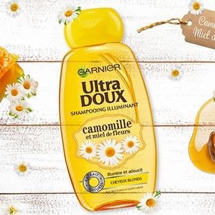 Test TRND : Shampooing Ultra Doux Garnier gratuits