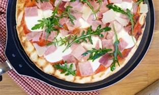 Test gratuit de la pâte à pizza à la poêle de HERTA