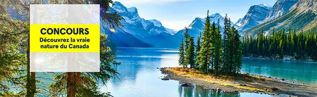 Tentez de gagner un voyage au canada avec Air Transat
