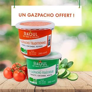 Bon plan Bio c' Bon : Gazpacho Raoul gratuit