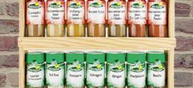 Bon plan Aldi : étagère + épices pas cher