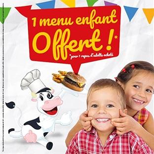 Bon plan La Boucherie : Menu enfant offert
