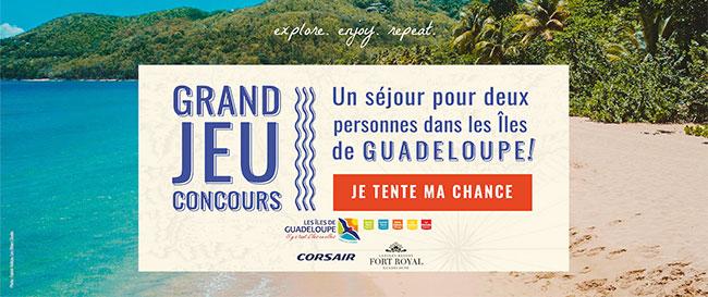séjour en Guadeloupe à remporter avec Longboard Stories