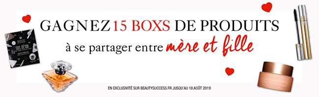 Tentez de remporter vox box Beauty Success Jolie de mère en fille
