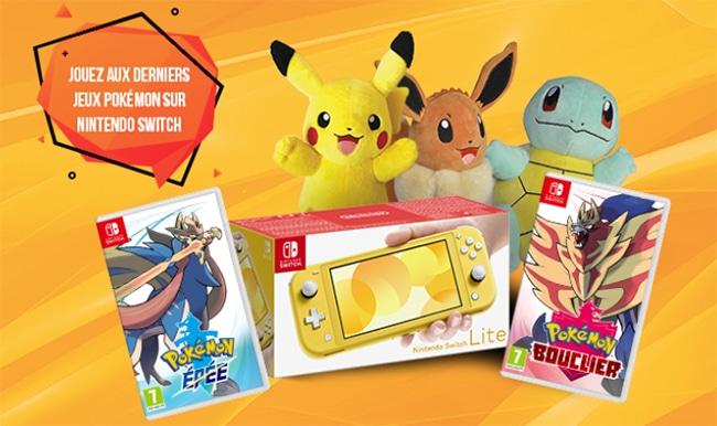 Les cadeaux Pokémon à gagner avec Candy'Up