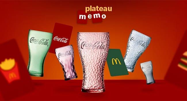 Tentez de gagner la collection de verres Coca-Cola 2021 de McDo
