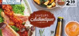 Catalogue Lidl «Saveurs Authentiques» du 24 au 30 juillet 2019