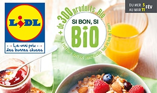 Catalogue lidl bio