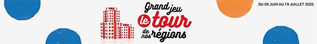 Concours Le rour de nos régions de E.Leclerc