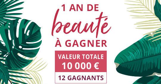 Tentez de remporter un an de cosmétiques Pierre Ricaud