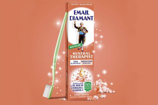 Testez gratuitement le dentifrice Email Diamant Mineral Therapist avec Lucette