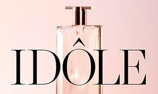 Échantillons gratuits du nouveau parfum Idôle de Lancôme