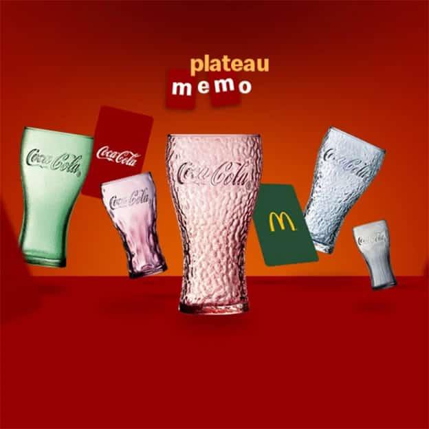 Jeu McDo : coffrets verres Coca-Cola à gagner