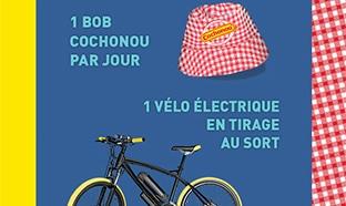 Jeu Saucissons officiels du tour : bobs et vélo à gagner