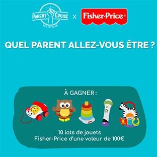 Jeu Fisher-Price & Parent Epuisé