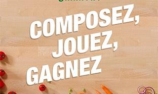 Jeu Flunch : Gagnez des salades Salad'Bar gratuites