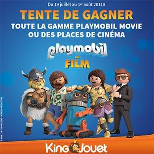 Jeu King Jouet : cadeaux Playmobil à gagner